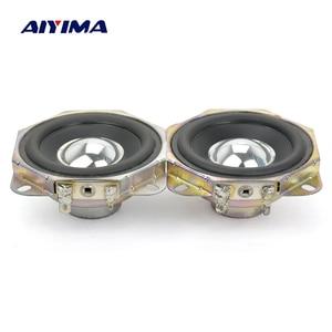 Image 3 - AIYIMA 2Pcs 2.75inch Audio Speaker 4Ohm 15W Uplifting Angle Neodymium Magnetic Full Range Speaker DIY