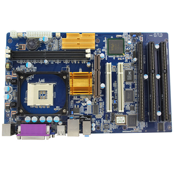 478 carte mère industrielle avec 3 * ISA 2 * PCI 1 * AGP
