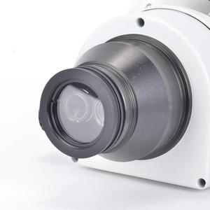 Image 2 - Simul focal 7X 45X Trinocular Zoom Stereo Microscope Head Simul focal Industrial Microscope WF10X 20mm Eyepiece Lens