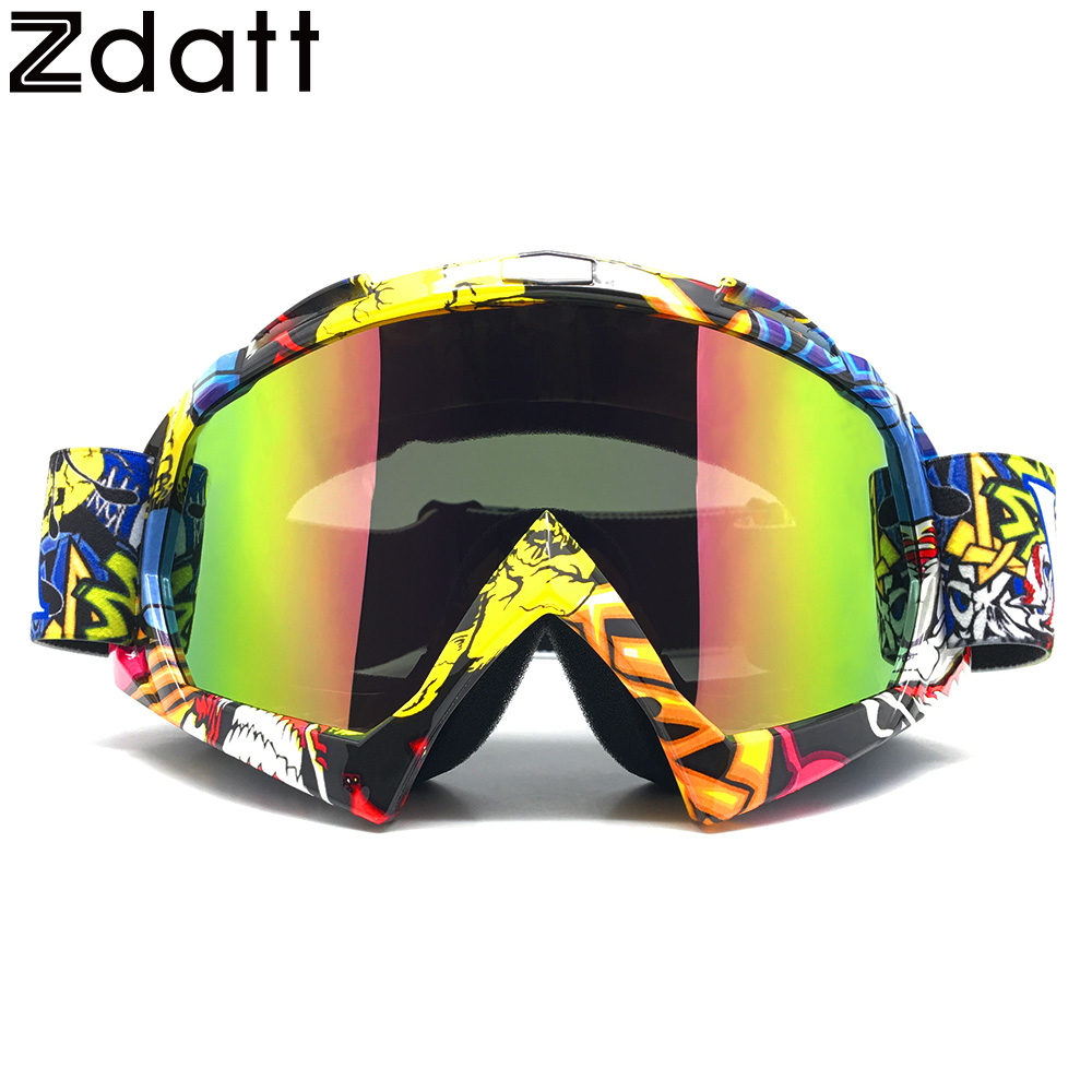 zdatt motocross motorcycle goggles moto moto. Black Bedroom Furniture Sets. Home Design Ideas