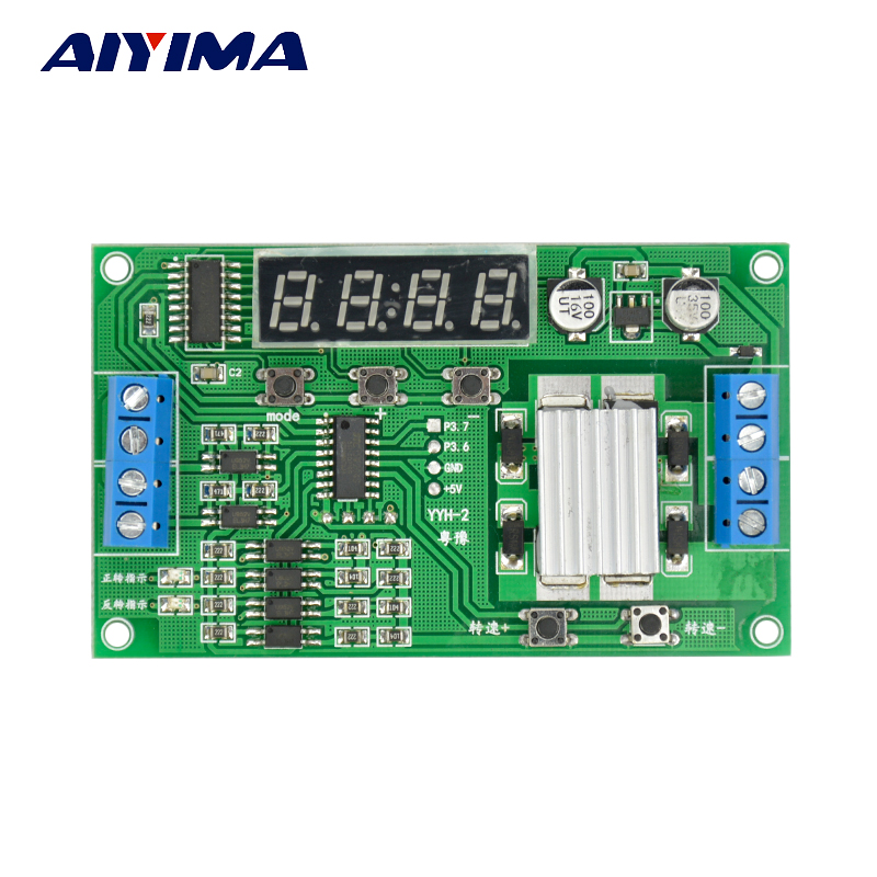 5V 12V 24V DC Motor Controller  For Forward Reverse Control Automatic / Speed Control / Timing / Delay  / Limit H bridge Module effects of ict facilities on teaching and learning