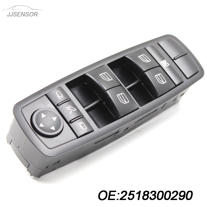 For 2006 2007 2008 2009 2010 2011 Mercedes-Benz ML Master Power Window Switch A 251 830 02 90 2518300290 A2518300290 mercedes actros 1844 2009