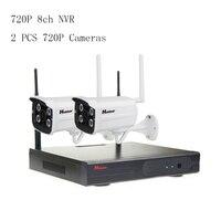 8CH 720P WIFI NVR Kit P2P CCTV System Outdoor Waterproof IP 720P HD IP Camera H