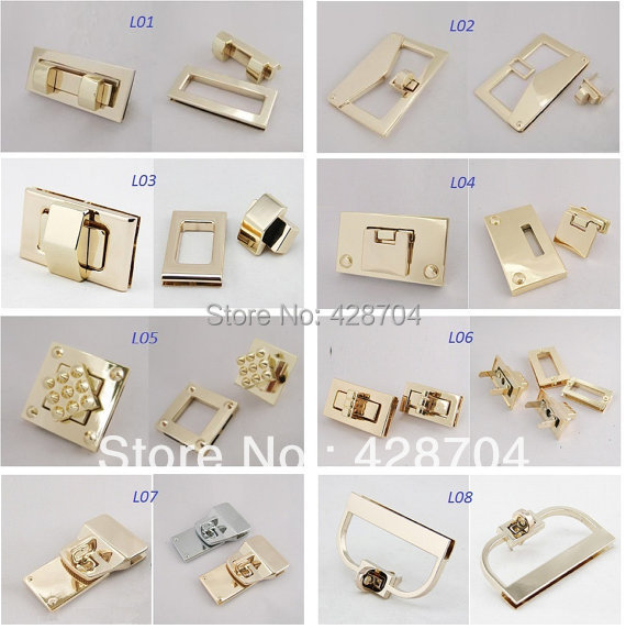 5 High Quality Twist Locks Flip Square Or Rectangle Shape For Bags Diy Bag Making Suppliers 8 Choices In Parts Accessories From Luggage