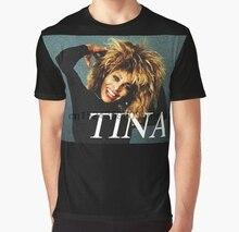 All Over Print Women T Shirt Men Funny tshirt TINA TURNER IN THE 80S  Graphic Women dec099c4d671