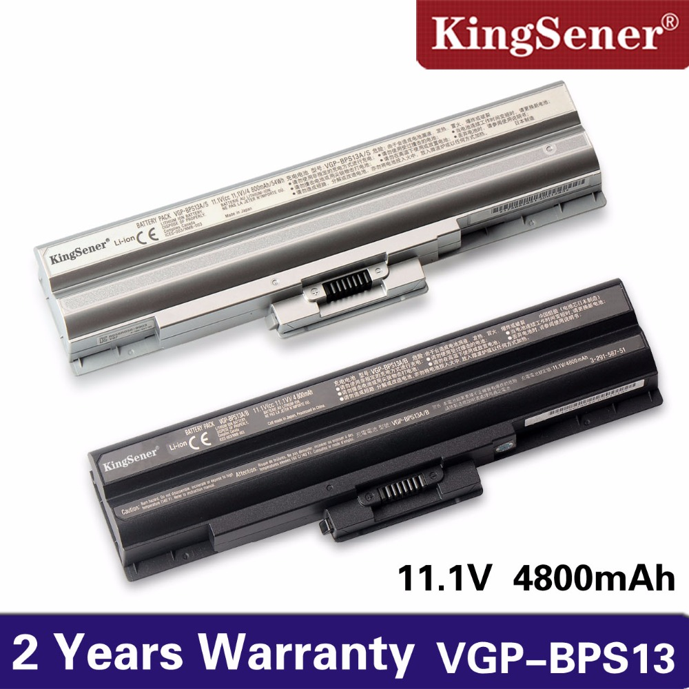 KingSener VGP-BPS13A/B New Laptop battery for SONY VAIO VGN-AW/CS/FW/NS/NW VGP-BPS13 VGP-BPL13 VGP-BPS13A/Q VGP-BPS13A/S цена
