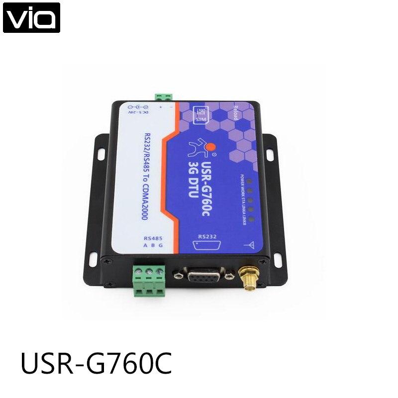 ФОТО USR-G760C Direct Factory 3G DTU,RS232/RS485 to CDMA 1x and CDMA EV-DO