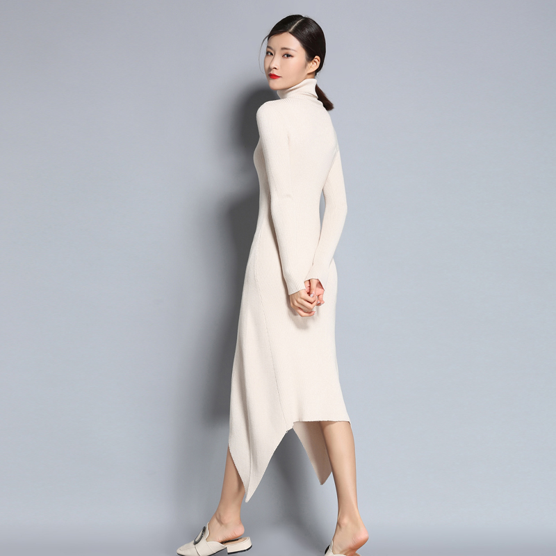 be69766df adohon 2018 womens winter Cashmere sweaters and auntmun women knitted  Dresses Pullovers High Quality Warm Female Turleneck -in Dresses from  Women's Clothing ...