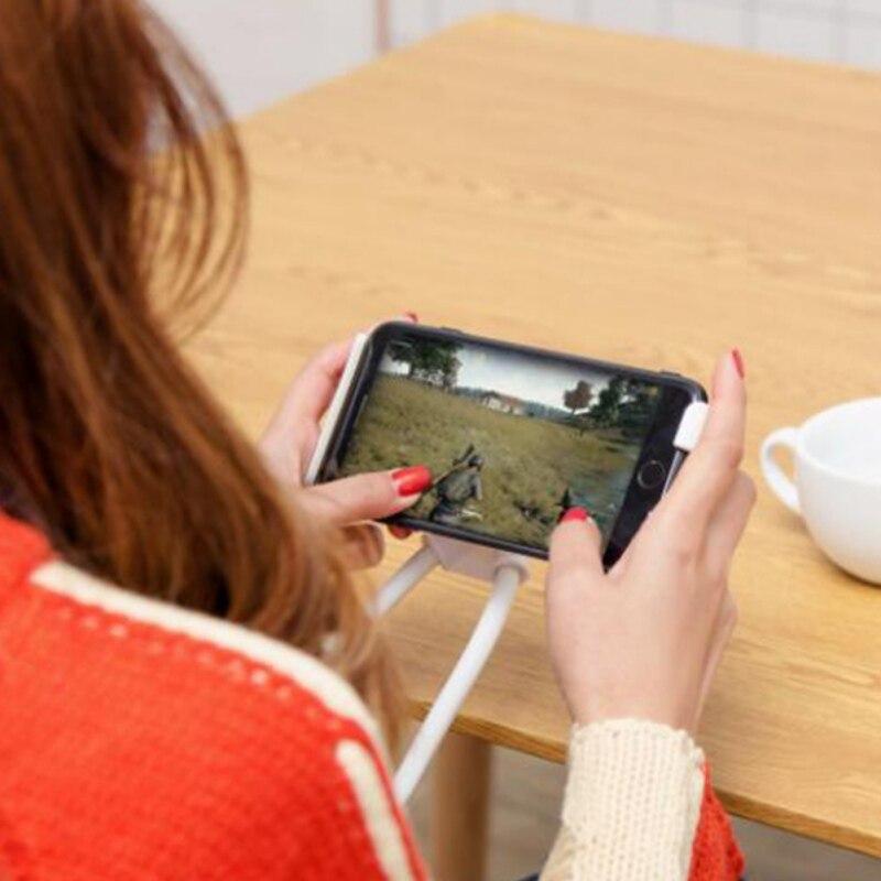 2019 Mode 360 Graden Rotatie Flexibele Lazy Beugel Universele Telefoon Selfie Houder Snake-achtige Hals Bed Mount Anti-slip Voor Telefoon Dagelijks Gebruik