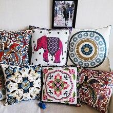 embroidery cushion home decor pillow pillowcase sofa throw pillows decorate cojines capa de almofada cojines coussin