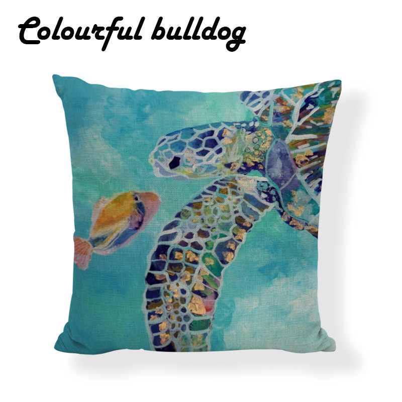 Lovely Sea Turtle Pillow Cushion Case Classic Euro Animal Painting Cojines Almofada Farmhouse 17.7 *17.7  sc 1 st  AliExpress.com & Popular Colorful Recliners-Buy Cheap Colorful Recliners lots from ... islam-shia.org