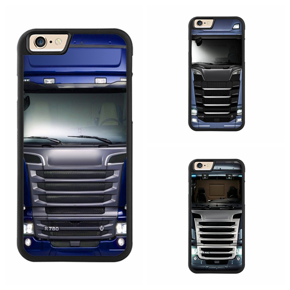 PEIDAN Blue Truck 2 Full Protective cover cell phone case