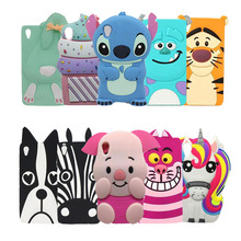 For Sony Xperia Z5 Phone Case 3D Cute Cartoon Minnie Kitty Stitch Minions Sulley Soft Silicone Protective Cover Capa