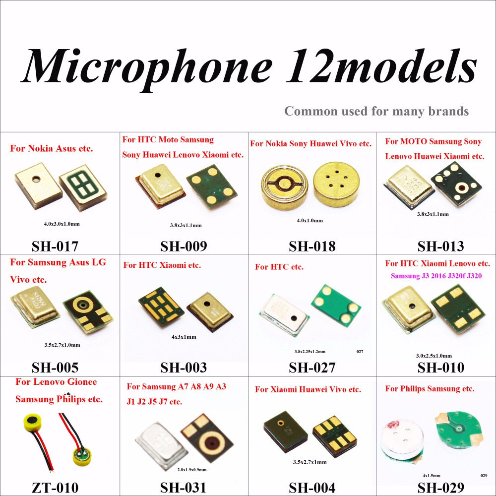 ChengHaoRan Microphone Inner Mic For Samsung Note 3 Xiaomi 4 4C 4i Redmi Huawei P8 HTC MOTO G For Lenovo S850 Asus Nokia Gionee