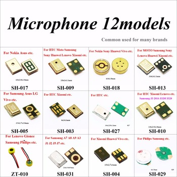 ChengHaoRan Microphone Inner Mic for Samsung Note 3 Xiaomi 4 4C 4i Redmi Huawei P8 HTC MOTO G For Lenovo S850 Asus Nokia Gionee cltgxdd 16models speaker microphones inner mic repair parts for iphone 6 for samsung 9300 for sony for nokia 7610 for pc phone