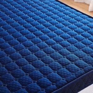 Image 5 - ข้นหน่วยความจำโฟมที่นอนเสื่อทาทามิพับสูงReboundที่นอนฟองน้ำสำหรับครอบครัวผ้าคลุมเตียง