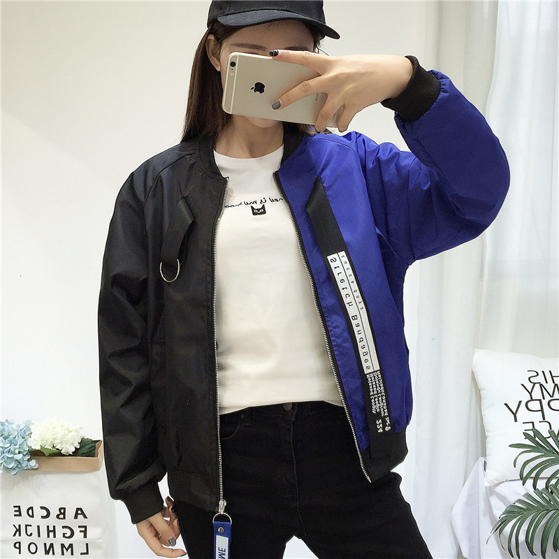 Jackets   Women 2018 New Women's Female   Basic     Jacket   Fashion Batwing Sleeve High Quality Windbreaker Outwear Baseball Women Coat