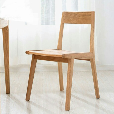 Cafe Chairs Cafe Furniture Oak Solid Wood Coffee Chair Dining Chair Chaise  Nordic Furniture Minimalist Modern