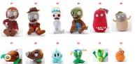 компактный размер плюш и наполненный игрушка растения против зомби пвз цифры мягкий игрушка продавать 40 модели / комплект
