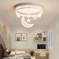 Светодиодная лампа для детской комнаты, потолочный светильник, минималистичный, современный, креативный, для девушек, для гостиной, для спа