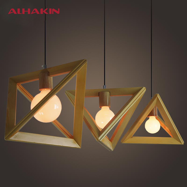 Designer Home Lighting Intended Dekin Designer Pendant Light Wood Home Fixture For Foyer Study Bedroom Indoor Lighting Decoration E27