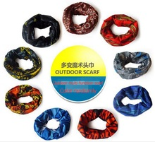Outdoor Sports Scarf Cycling Mountaineering Fishing Climbing Camouflage Scarf Camping Hiking Mask Skull variable magic scarf