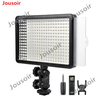 Godox Professional LED308 Wireless Remote LED Video Light Changeable Version 3300-5600K for Wedding for C N S Camera  CD50