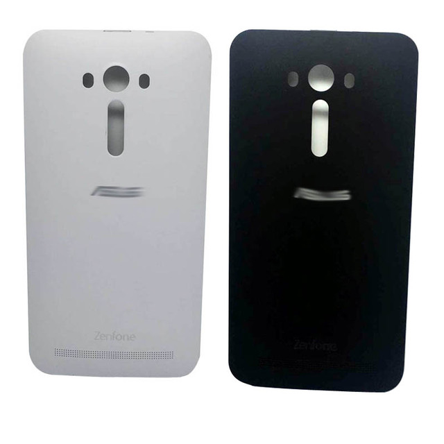 "New Deluxe For Asus zenfone 2 Laser 5.5"" ZE550KL Ze551kl Z00LD Rear Back Cover Door Battery Cover With power button White Black"