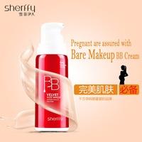 Makeup Foundation BB Balm Concealer Anti Velvet Nude Makeup BB Cream Corrector Liquid Makeup Face Base Brighten Whitening Cream