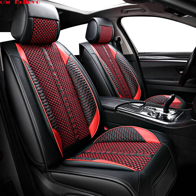 Car Believe car seat cover For mercedes w204 w211 w210 w124 w212 w202 w245 w163 accessories covers for vehicle seat цена