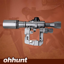 Hunting Tactical POS 6X36 1 Red Illuminated SVD AK Rifle Scope Sniper RifleScope Made in China