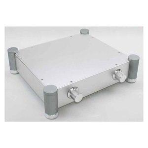 Image 3 - Yyslb diy 앰프 케이스 320*70*280mm wa70 전체 알루미늄 앰프 섀시 프리 앰프 튜브 순수 스테이지 케이스 박스 실버