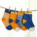 0~24 Month Popular 4 Pairs Socks Set Pure Cotton Baby Boys and Girls Socks Cotton Socks Newborn