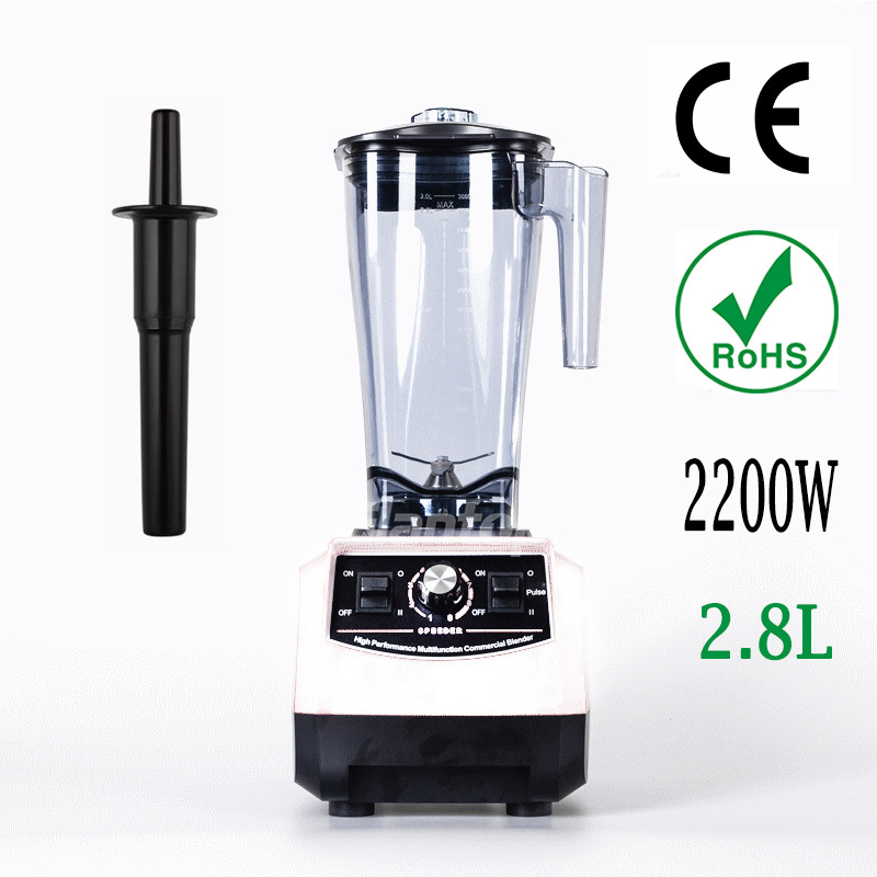 2200W 2.8L Heavy Duty Professional High Performance Commercial Blender Home Power Blender Mixer Juicer Food Processor