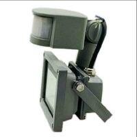 AC/DC 12 В 10 Вт движения PIR Сенсор Светодиодный прожектор напольный светильник Водонепроницаемый IP65 индукционная свет проектора