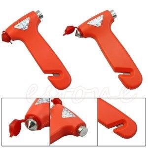 Image 3 - 1PC Break Window Glass Hammer Car Emergency Safety Gear  Belt Rope Cutter Tool