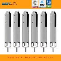 6 Pieces Satin Polish BEST METAL Duplex 2205 Core Drill Spigot For Frameless Glass Swimming Pool
