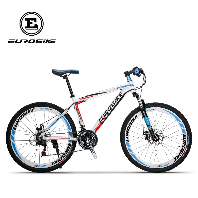 EUROBIKE 21 Speed MOUTAIN BIKE Double Brake Mens bike Aluminium alloy BICYCLE