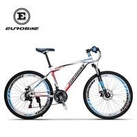 EUROBIKE 21 Speed MOUTAIN BIKE Double Brake Mens Bike Aluminium Alloy BICYCLE