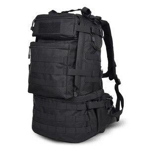 Image 5 - Sac à dos militaire classique, sacoche militaire étanche en Nylon 50l, randonnée camping Camouflage, grande capacité pour hommes