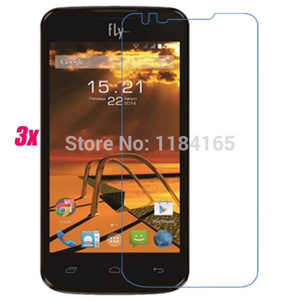 Screen Protector for Fly IQ4401 Era Energy 2 Film 3pcs/Lot Front Transparent LCD Screen Guard Protector