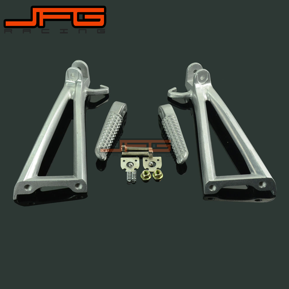 Footrests Rear Foot Pegs Pedals Rest Footpegs For YAMAHA YZF R6 YZF R6 2006 2011 2006
