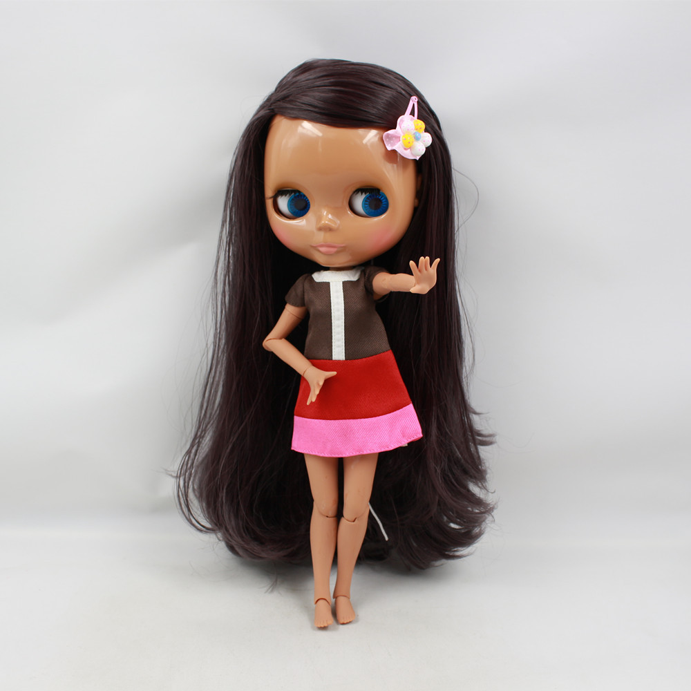 Blyth Nude Doll For Series No.260BL9219 joint body modena Hair Suitable For DIY Change BJD Toy For Girls все цены