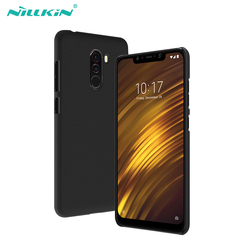 Case For Pocophone F1 Xiaomi Poco phone F1 Cover NILLKIN Super Frosted Shield PC Hard back cover with Retail package