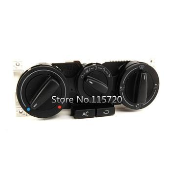 1J0820045F Air AC Heater Panel Climate Control Switch Assy for VW 99.5-05 VW Jetta Golf Passat B5 bora Mitsubishi Pajero