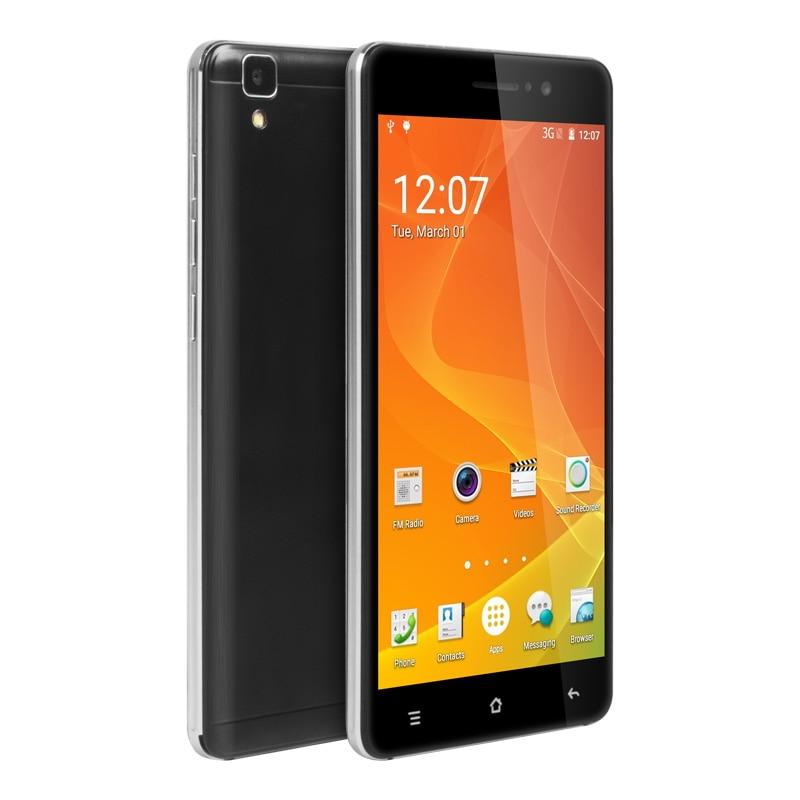 Цена за Ultra Slim 5.5 Дюймов Смартфон Alps R7 Android 5.1 Quad Core 3 Г Мобильный Телефон 512 МБ RAM 8 ГБ ROM 2300 мАч с Бесплатный Телефон случае