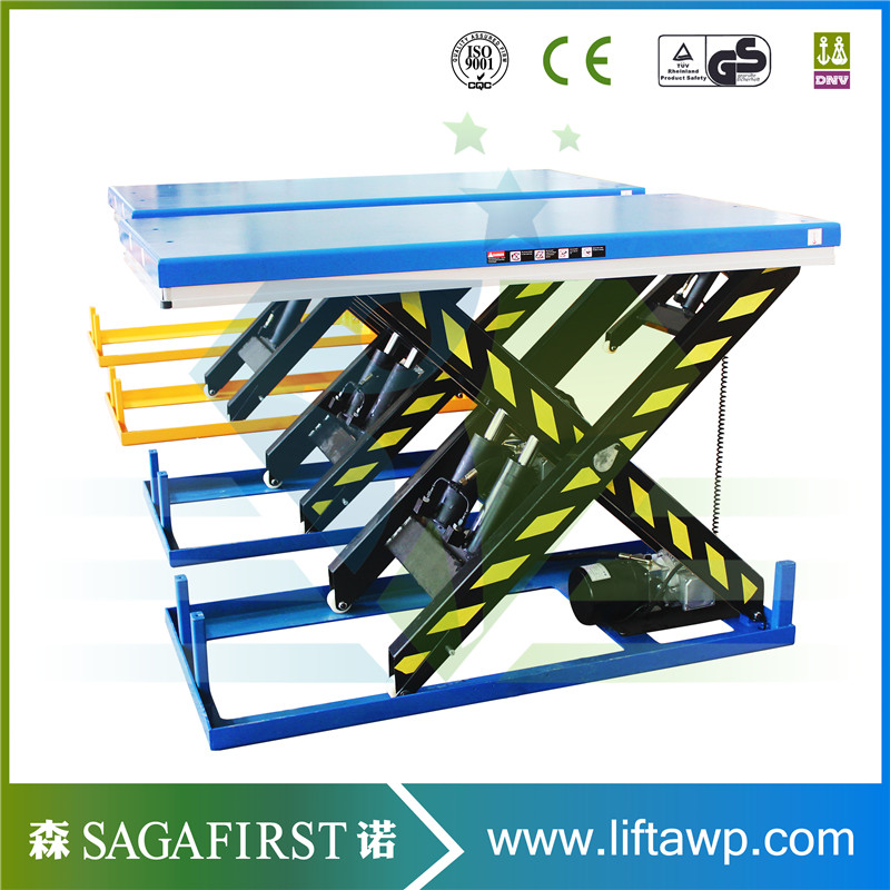 Hydraulic Electric Scissor Lift Table With Load Capacity 1 ton,2 tons, 4 tonsHydraulic Electric Scissor Lift Table With Load Capacity 1 ton,2 tons, 4 tons