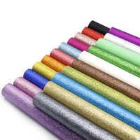 David acessórios 21 cores/conjunto 20*34cm cor sólida pontos de couro sintético retalhos para cabelo arco bolsas diy, 1yc5437