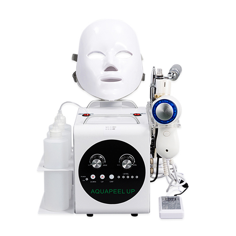 Hot Vacuum Face Cleaning Hydro Water Oxygen Jet Peel Machine Pore Cleaner Facial Massage Skin Care Led Face Mask Beauty Device