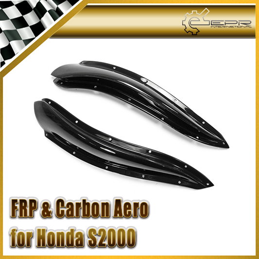 For Honda S2000 AP2 Chargespeed Style FRP Fiber Glass Front Bumper Canard Car Accessories Racing Auto Body Kit Trim Car StylingFor Honda S2000 AP2 Chargespeed Style FRP Fiber Glass Front Bumper Canard Car Accessories Racing Auto Body Kit Trim Car Styling